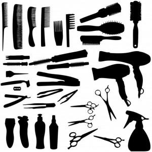Hair Scissors Combs Dryers