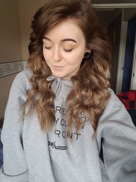 Hannah's review of her micro loop hair extensions 1 month on.